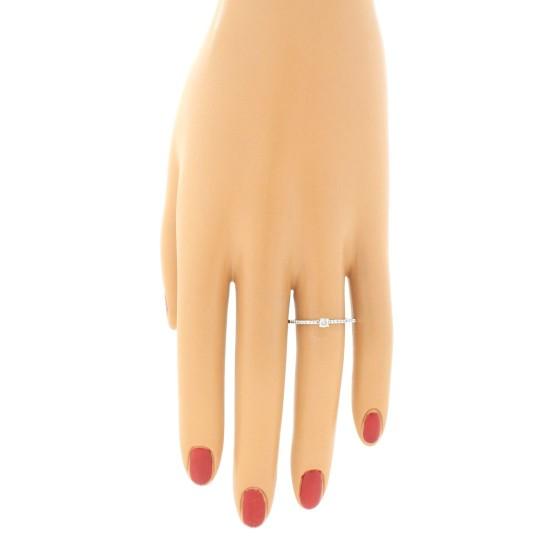 Genuine Diamond Promise Ring 10Kt White Gold 0.25 cttw